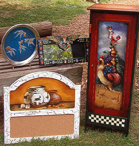 The artwork of Pat Bell at Split Creek Farm